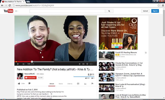 Youtube eksempel 2